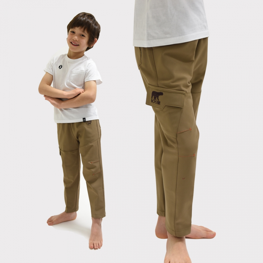 [AUTUMN] COMBI PANTS (BEIGE)